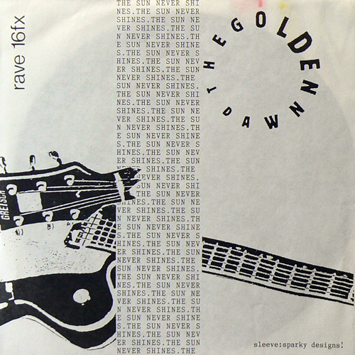 THE GOLDEN DAWN / THE SUN NEVER SHINES [USED FLEXI/UK] 2520円