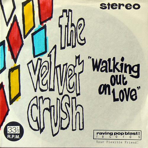 THE VELVET CRUSH ,  / WALKING OUT ON LOVE [USED FLEXI/UK] 2520円
