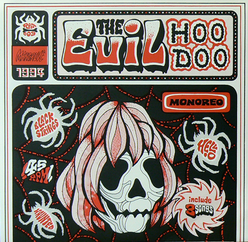 EVIL HOODOO / HELL-O~HAUNTED [USED 7inch/JPN] 1890円