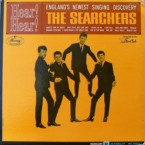 THE SEARCHERS / HEAR! HEAR! [USED LP/US] 2100円