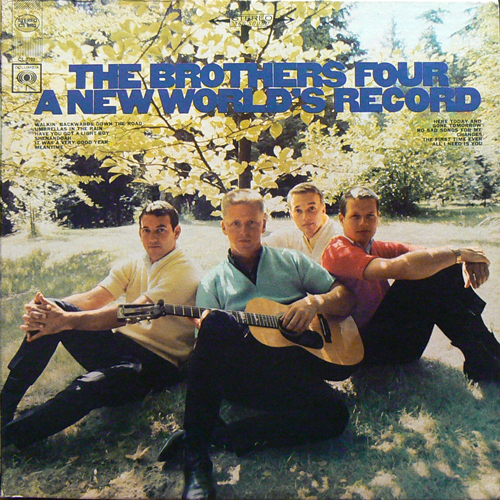 THE BROTHERS FOUR / A NEW WORLD'S RECORD [USED LP/US] 1470円