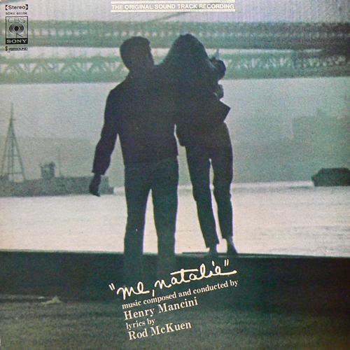 HENRY MANCINI / ME.NATALIE O.S.T. [USED LP/JPN] 1680円