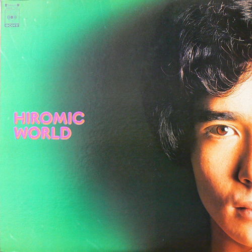 郷ひろみ / HIROMIC WORLD [USED LP/JPN] 1050円