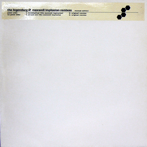 DAS SUSSE LEBEN / THE LEGENDARY 2 MAXWELL IMPLOSION REMIXES [USED 12inch/EU] 4200円