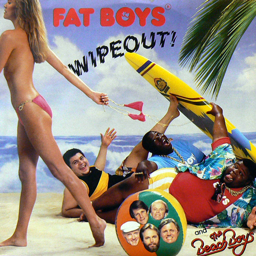 FAT BOYS and THE BEACH BOYS / WIPEOUT! [USED 7inch/US] 525円