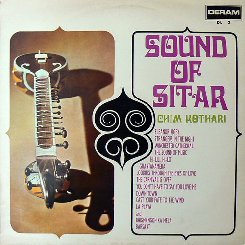 CHIM KOTHARI / SOUND OF SITAR [USED LP/JPN] 2310円