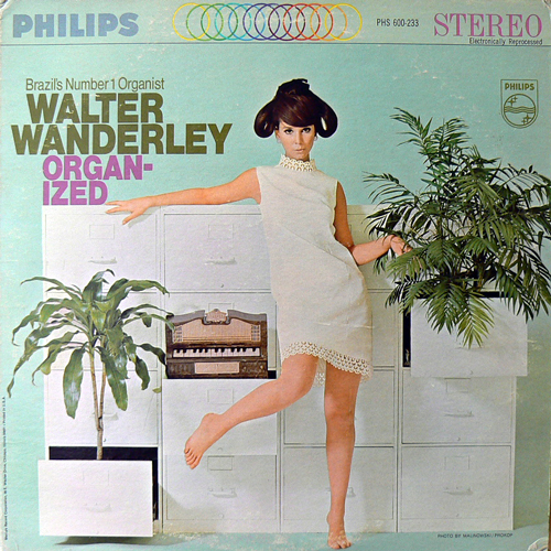 WALTER WANDERLEY / ORGAN-IZED [USED LP/US] 2100円