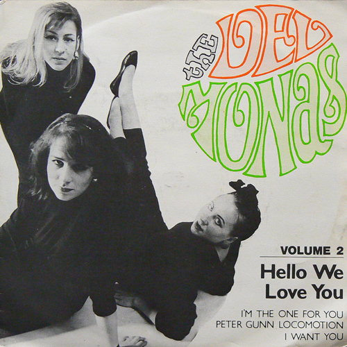 THE DEL MONAS / HELLO WE LOVE YOU [USED 7inch/UK] 2800円