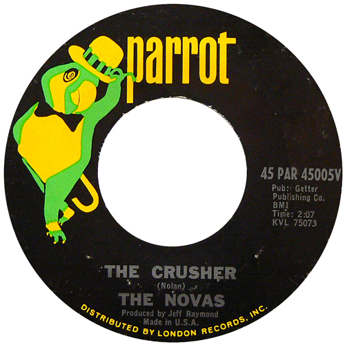 THE NOVAS / THE CRUSHER [USED 7inch/US] 2800円