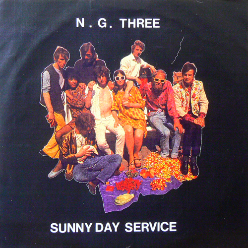 N.G.THREE - SUNNY DAY SERVICE / SPLIT EP [USED 7inch/JPN]
