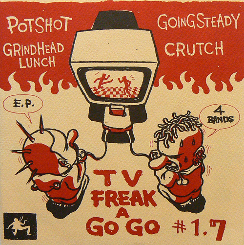 V.A. / TV FREAK A GO GO #1.7 [USED EP/JPN]