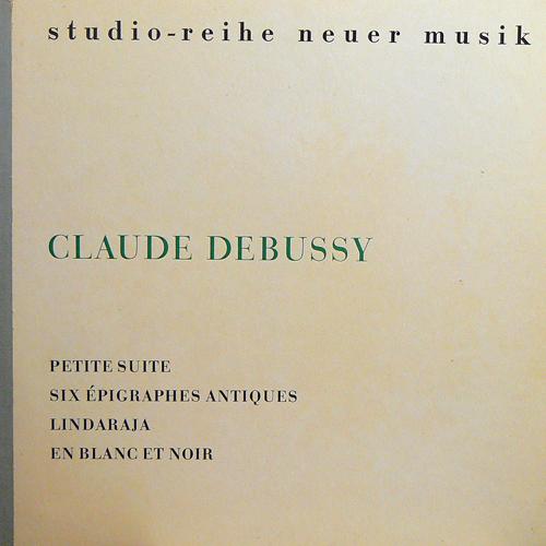 CLAUDE DEBUSSY / KLAVIERWERKE [USED LP/EU] 1400円