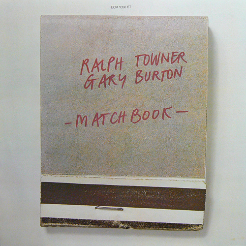 RALPH TOWER - GARY BURTON / MATCH BOOK [USED LP/EU] 2000円