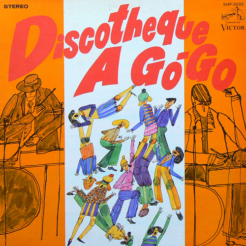 HAL BLAINE / DISCOTHEQUE A GO-GO [USED LP/JPN] 3200円