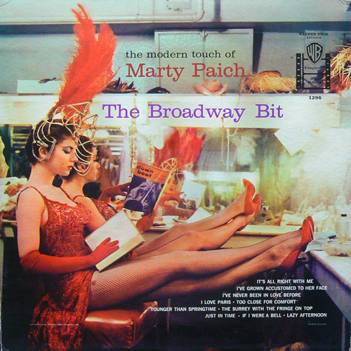 MARTY PAICH / THE BROADWAY BIT [USED LP/US] 7800円