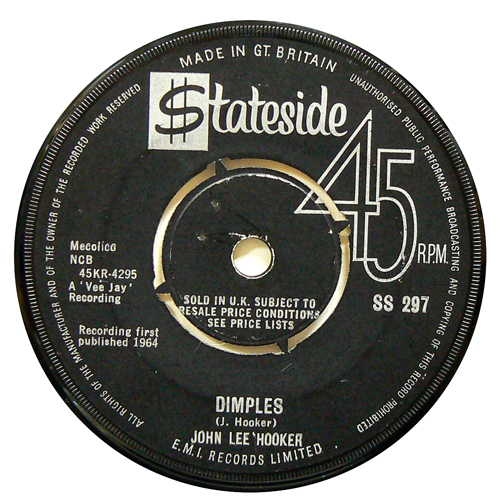 JOHN LEE HOOKER / DIMPLES [USED 7inch/UK] 1000円