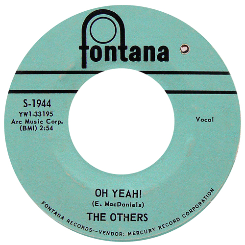 THE OTHERS / OH YEAH! [USED 7inch/US] 1800円