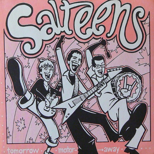 SALTEENS / TOMORROW [USED 7inch/US] 600円