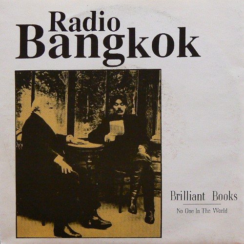 RADIO BANGKOK / BRILLIANT BOOKS ('93) [USED 7inch/EU] 1600円