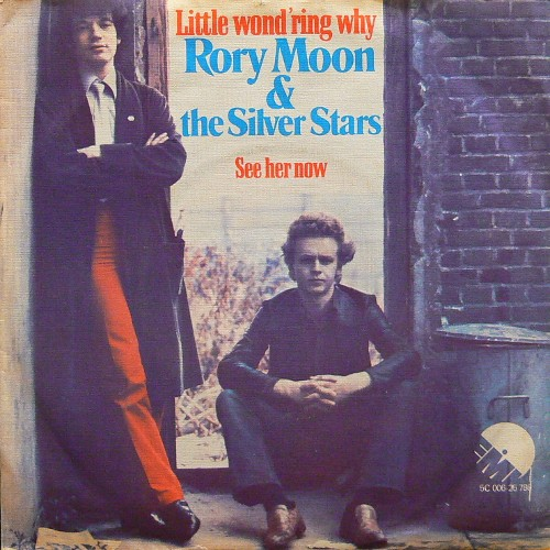 RORY MOON & THE SILVER STARS / LITTLE WOND'RING WHY ('77) [USED 7inch/EU] 1800円