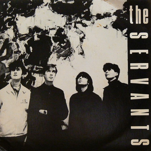 THE SERVANTS / SHE'S ALWAYS HIDING ('86) [USED 7inch/UK] 2400円