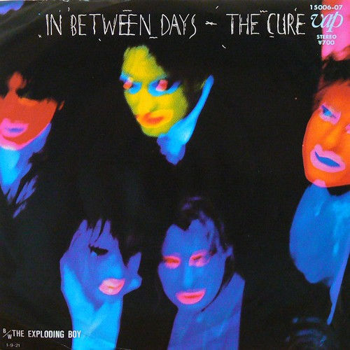 THE CURE / IN BETWEEN DAYS ('85) [USED 7inch/JPN] 3800円