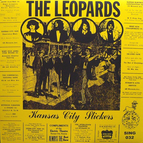 THE LEOPARDS / KANSAS CITY SLICKERS ('77) [USED LP/US] 2500円