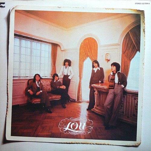 ルウ / LOU ('76) [USED LP/JPN] 2400円
