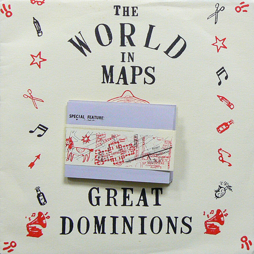 Mirò ‎/ THE WORLD IN MAPS ('91) [USED 7inch/UK] 1200円