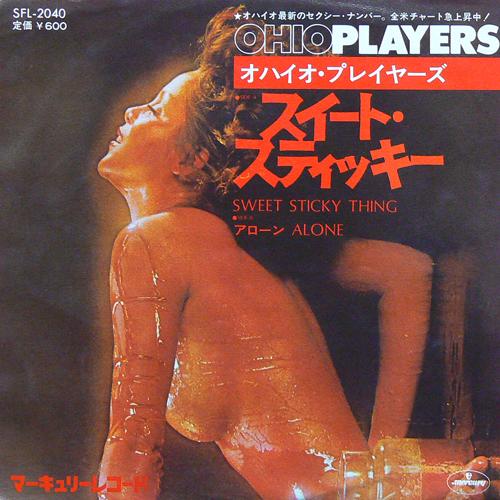 オハイオ・プレイヤーズ / スイート・スティッキー ('75) [USED 7inch/JPN] 3900円