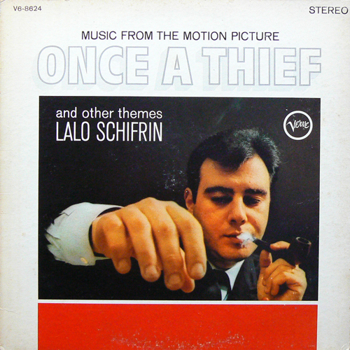 LALO SCHIFRIN / ONCE A THIEF ('65) [USED LP/US] 2500円