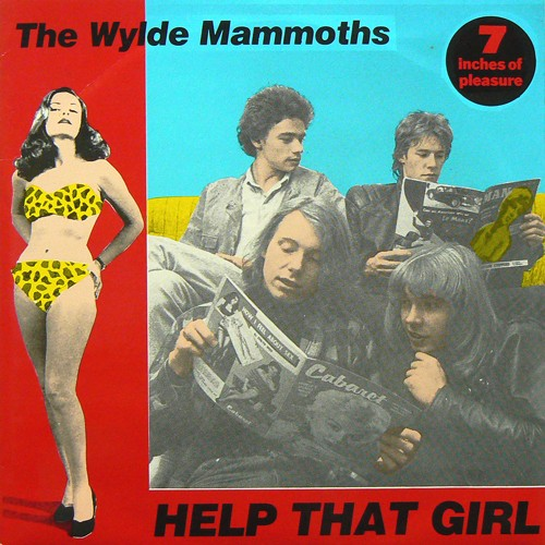 THE WYLDE MAMMOTHS / HELP THAT GIRL ('88) [USED EP/US] 1600円