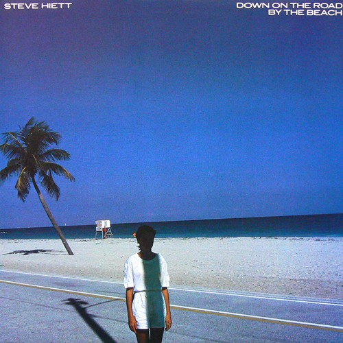 STEVE HIETT / DOWN ON THE ROAD BY THE BEACH ('83) [USED LP/JPN]