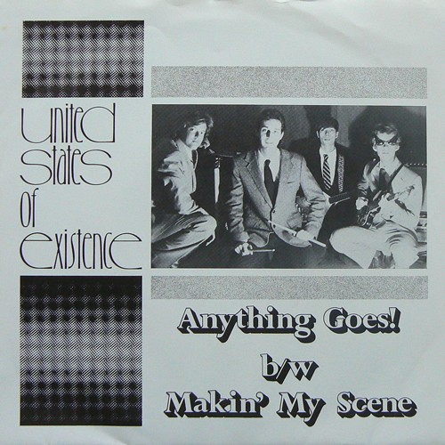 UNITED STATES OF EXISTENCE / ANYTHING GOES! ('84) [USED 7inch/US] 1200円