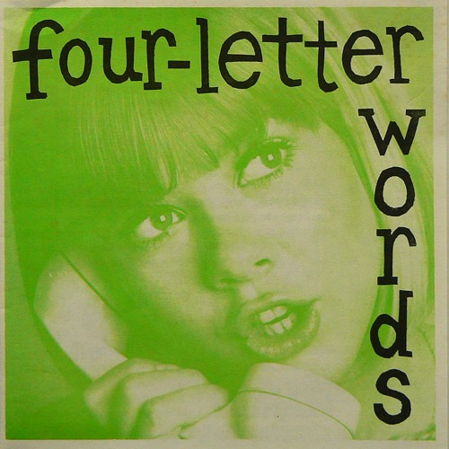 FOUR-LETTER WORDS ('90) [USED ZINE/US] 2500円