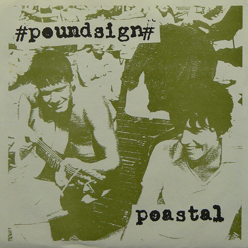 POUNDSIGN / DISASTOR ('94) [USED 7inch/US] 1000円