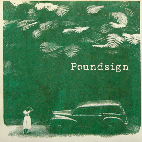 POUNDSIGN / THE ALMONDY MANY ('96) [USED 7inch/US] 900円