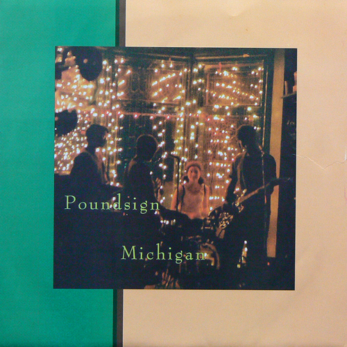 POUNDSIGN / MICHIGAN ('97) [USED 7inch/US] 1400円