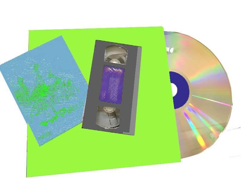 ビデオテープ・DVD・LD買取ります